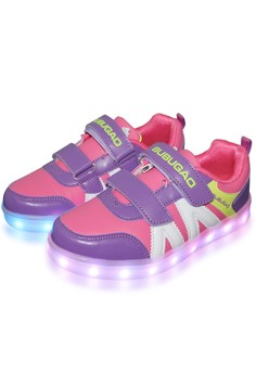Deluxe 5957A Elegant Fashion LED Lighting Sports Rubber Shoes