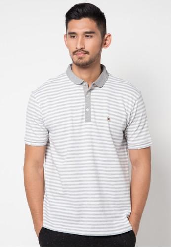 Stripe Lacost Poloshirt