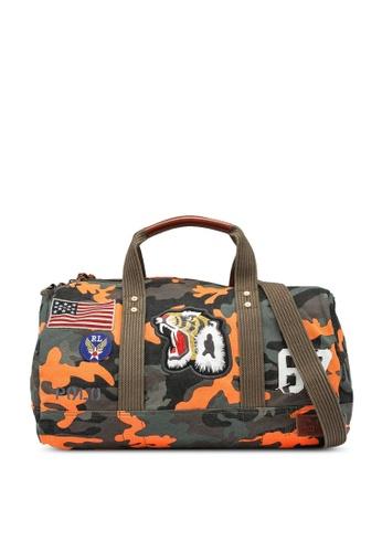 Polo Ralph Lauren orange Camp Tiger Duffle Bag 9E4C9ACD3ADE30GS_1