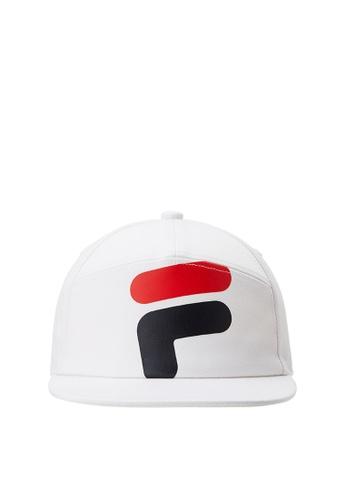 FILA white FILA KIDS F Logo Caps F22F3KC998F62FGS_1