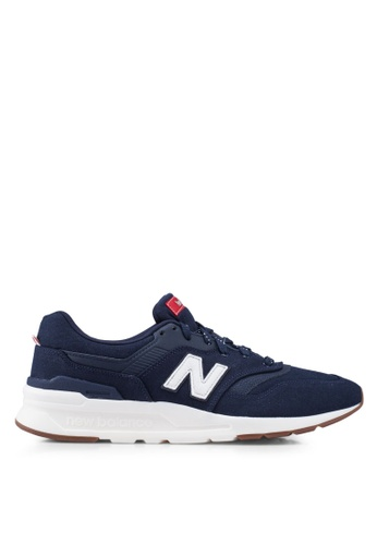 New Balance navy 997H Lifestyle Shoes F0BDBSH3FD40E1GS_1