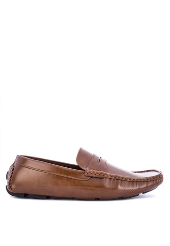 H2Ocean brown Nashua Loafers 96FA5SHFACD7AEGS_1