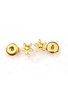 14K Gold Filled Star Earrings