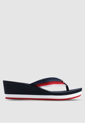 14c0bc339f4231 Buy Tommy Hilfiger OMBRE EFFECT BEACH SANDAL Online on ZALORA Singapore