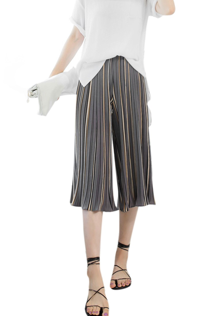 Dance Away Pleated Culottes