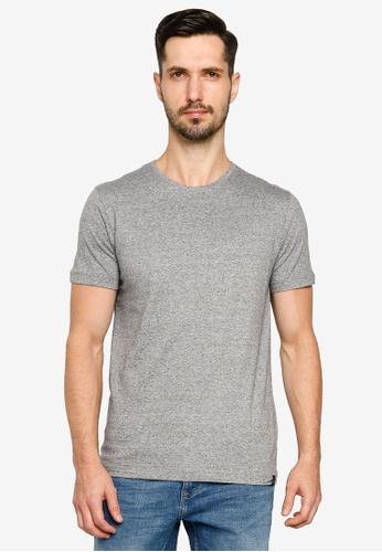 BLEND grey Basic Crew Neck T-Shirt EF563AA0731FEEGS_1