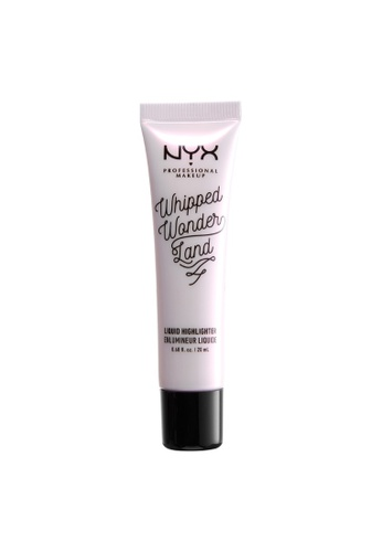 NYX Professional Makeup silver NYX Professional Makeup WHIPPED WONDERLAND LIQUID HIGHLIGHTER - FLIGHT OF THE FAIRY 51CCCBEFF2A671GS_1