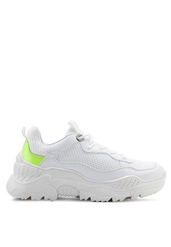 VANESSA WU white Aden Sneakers 63425SHA495DD5GS_1