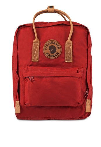 Fjallraven Kanken red Deep Red Kanken No.2 Backpack FJ382AC0RZ6SMY_1