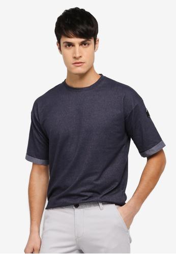 UniqTee black Statement T-Shirt UN097AA0SYUAMY_1