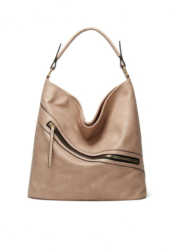Twenty Eight Shoes beige VANSA Simple Design Hand Bag VBW-Hb040 C7E45AC7ABCB0CGS_1