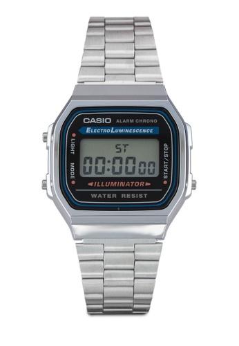Casio silver Casio Vintage Watch CA843AC53SLAMY_1