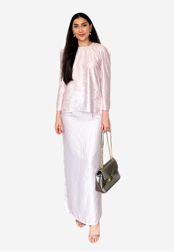 LosraVelda pink Jayla Kurung Moden F3E94AA0B554E3GS_1