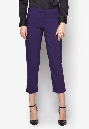 Simone 直筒西裝長褲esprit台灣outlet, 服飾, 長褲及內搭褲