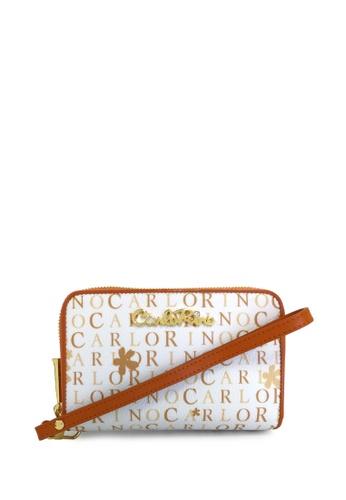 Carlo Rino brown Carlo Rino 0303804-702-05 Double zipper wallet CA220AC36CYPMY_1