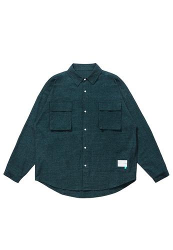 Twenty Eight Shoes Overshirt With Pockets 2096W20 E64D9AA98C48A4GS_1