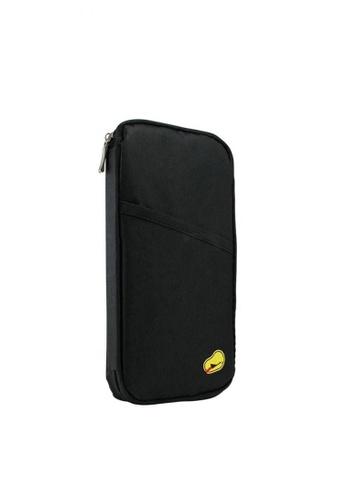 Fashion by Latest Gadget black Passport Bank Card Cash Holder Organizer Wallet Purse 5863CAC67DFFD5GS_1