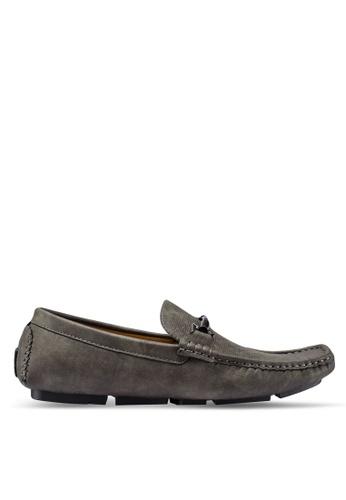 Carlton London grey Slip On Loafers 6C8E3SH75B038DGS_1
