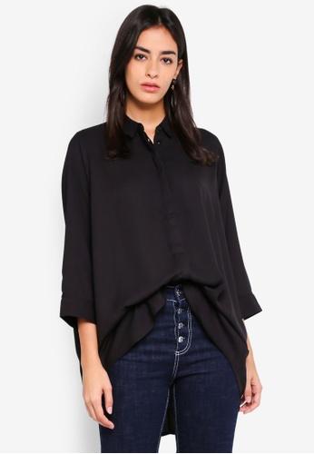 Vero Moda black Sanne Long Shirt 704DBAA4C471A5GS_1