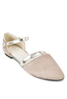 Jennifer Ankle Strap Flats