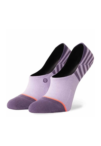 STANCE purple Stance Uncommon Invisible Small - Black 097AAAACAF8D32GS_1