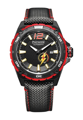 Daumier grey and red and multi DAUMIER x The Flash Watch 4C136ACBEF16F2GS_1