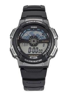 電子運動風手錶