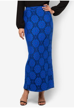 Sirih Skirt With Full Lace