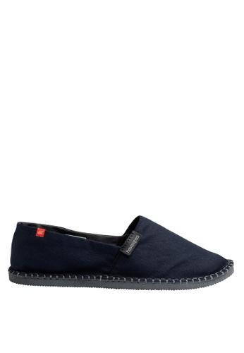 Havaianas black Origine III Slip-on Sneakers HA021SH06DCRPH_1