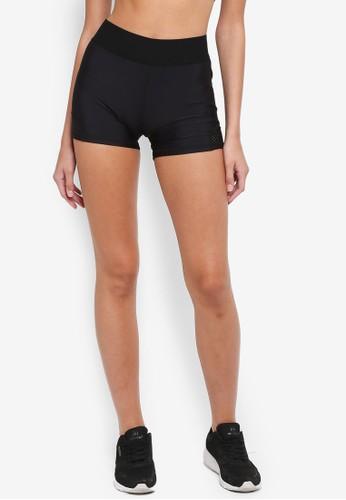 Cotton On Body black Active Gym Shorts 3859EAAAEBF671GS_1