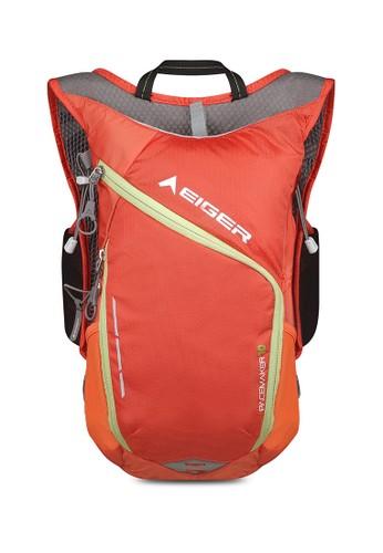 Eiger orange Pacemaker Trail Running Hydropack 10L - Orange 243C1ACF0257D5GS_1