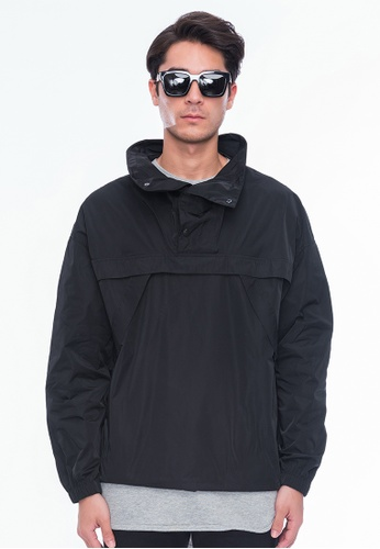 Alpha Style black Yancy Pullover Jacket AL461AA0GF9QSG_1