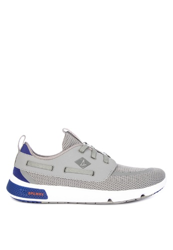 Sperry grey 7 Seas 3-Eye Sneakers 18385SH31514E3GS_1