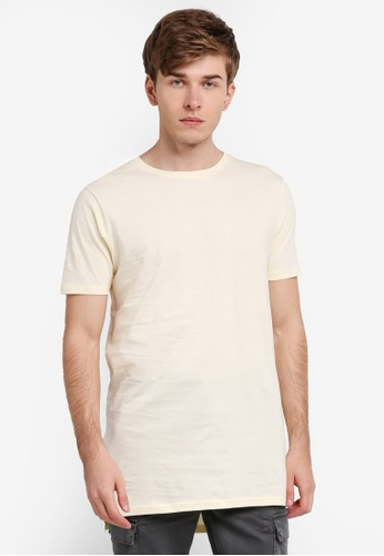 Factorie white Drop Tail Tee FA880AA0SKMPMY_1