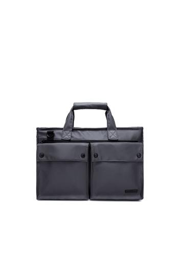 The Dude grey Smasher Briefcase B2DB5AC214FDEBGS_1