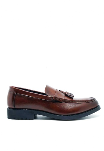 Twenty Eight Shoes brown Synthetic Leather Loafers MC222 FD291SHCD5B889GS_1