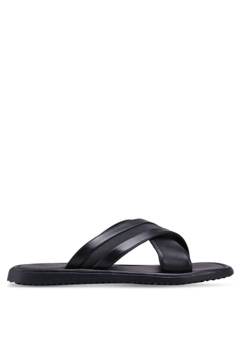 Call It Spring black Olaossa Sandals D5B89SHA327789GS_1