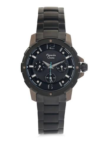 Alexandre Christie black Alexandre Christie Jam Tangan Wanita - Black Grey - Stainless Steel - 6410 BFBZBBA  45AC4AC32BDF3FGS_1