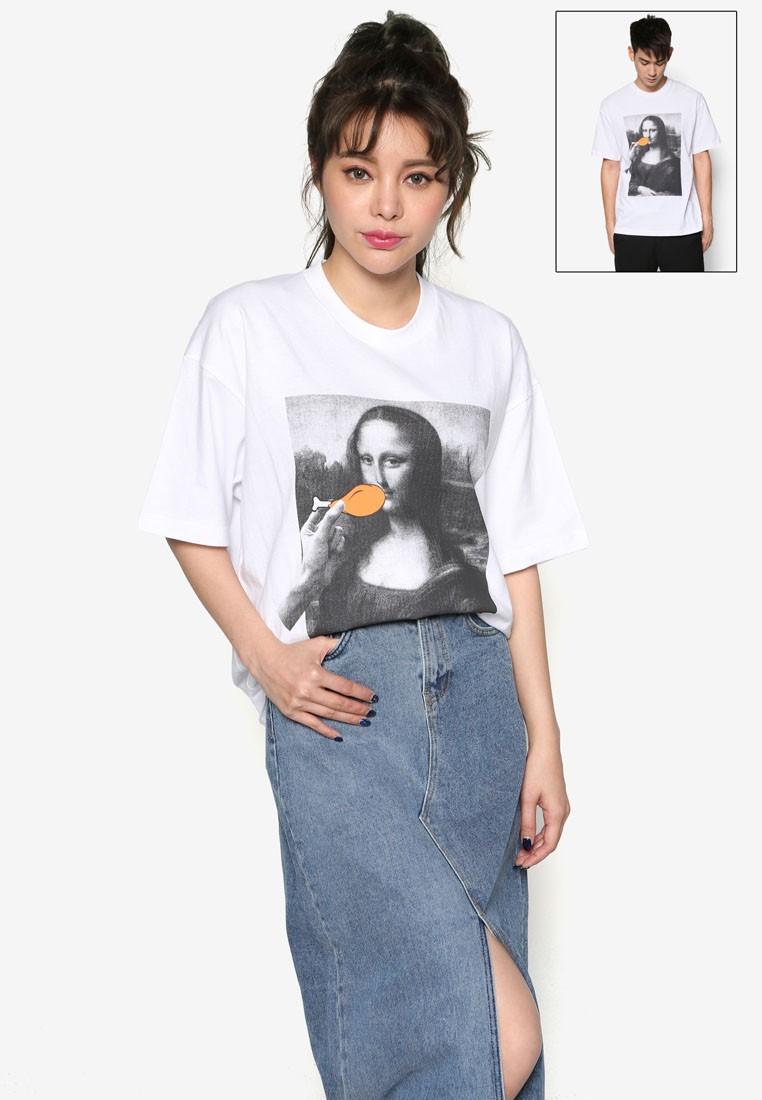 Chicken For Mona Lisa Short Sleeve T-Shirt
