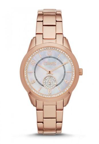 CHAPS Kasia鑽飾計esprit outlet 台中時腕錶 CHP3013, 錶類, 時尚型
