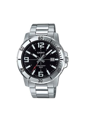 Casio silver CASIO GENERAL MTP-VD01D-1BVUDF UNISEX'S WATCH 45D08ACAEA5A92GS_1