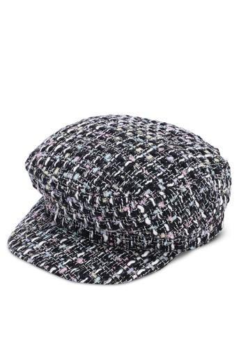 7ccc627c2b2 Buy Miss Selfridge Tweed Baker Boy Hat Online on ZALORA Singapore
