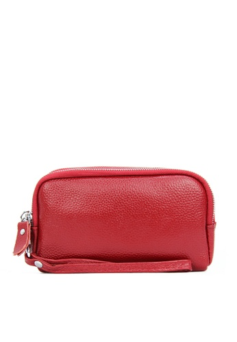 HAPPY FRIDAYS Three Layers Litchi Grain Leather Wallet JN2026 1E81BAC0366362GS_1