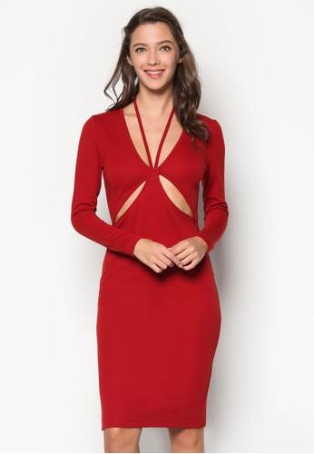 性感鏤空貼身連身裙, 女裝飾esprit服飾品, 鞋飾品配件