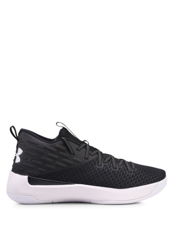 Under Armour black UA Lightning 5 Basketball Shoes C490BSHA2C338CGS_1