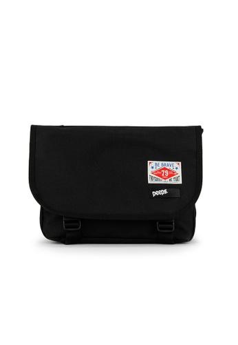 Peeps black E2 Mini Messenger Bag 787D2AC915F3BCGS_1