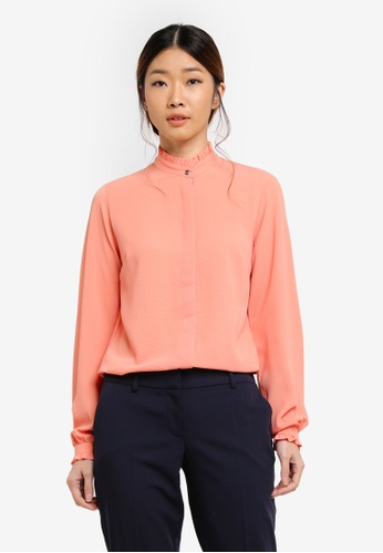 Dorothy Perkins pink Coral Pie Crust Shirt A54CDAAFD12074GS_1