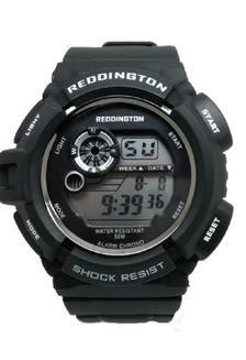 Reddington Jam Tangan Pria Hitam Putih Rubber Strap R0939 RE752AC41DSOID 1 03600ea47c
