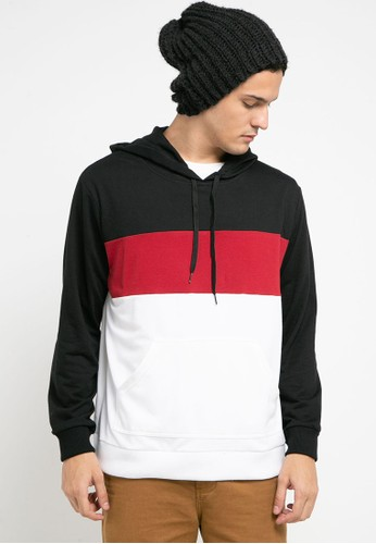 Tolliver black Three Color Pullover Hoodies BEE7AAA5F633DCGS_1