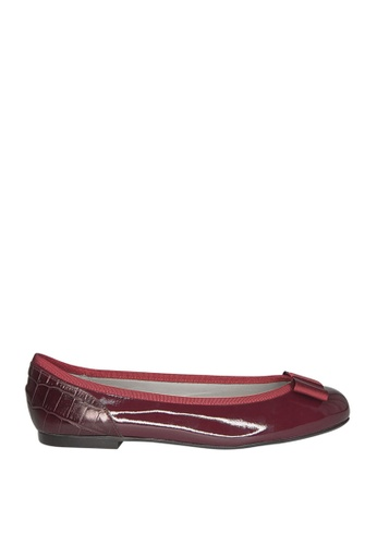 Covet red French Sole Henrietta Ballet Flats CO331SH0JIVGPH_1